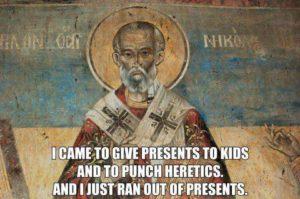 Santa Claus, Saint Nicholas and Modern Mythology