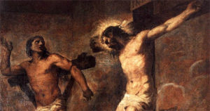 Substitutionary atonement distorts the good news (the second saying from the cross)