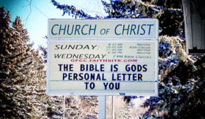 No, the Bible Isn't God's Personal Letter to You