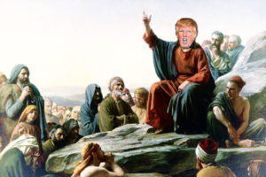 The Sermon of the Trump: Evangelical Catechesis
